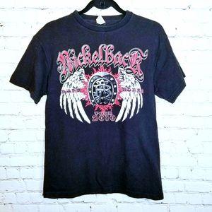 Nickelback 2010 headliner tour tshirt